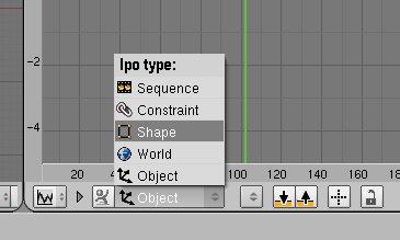 Blender, animation : mesh morphing ou absolute mesh key